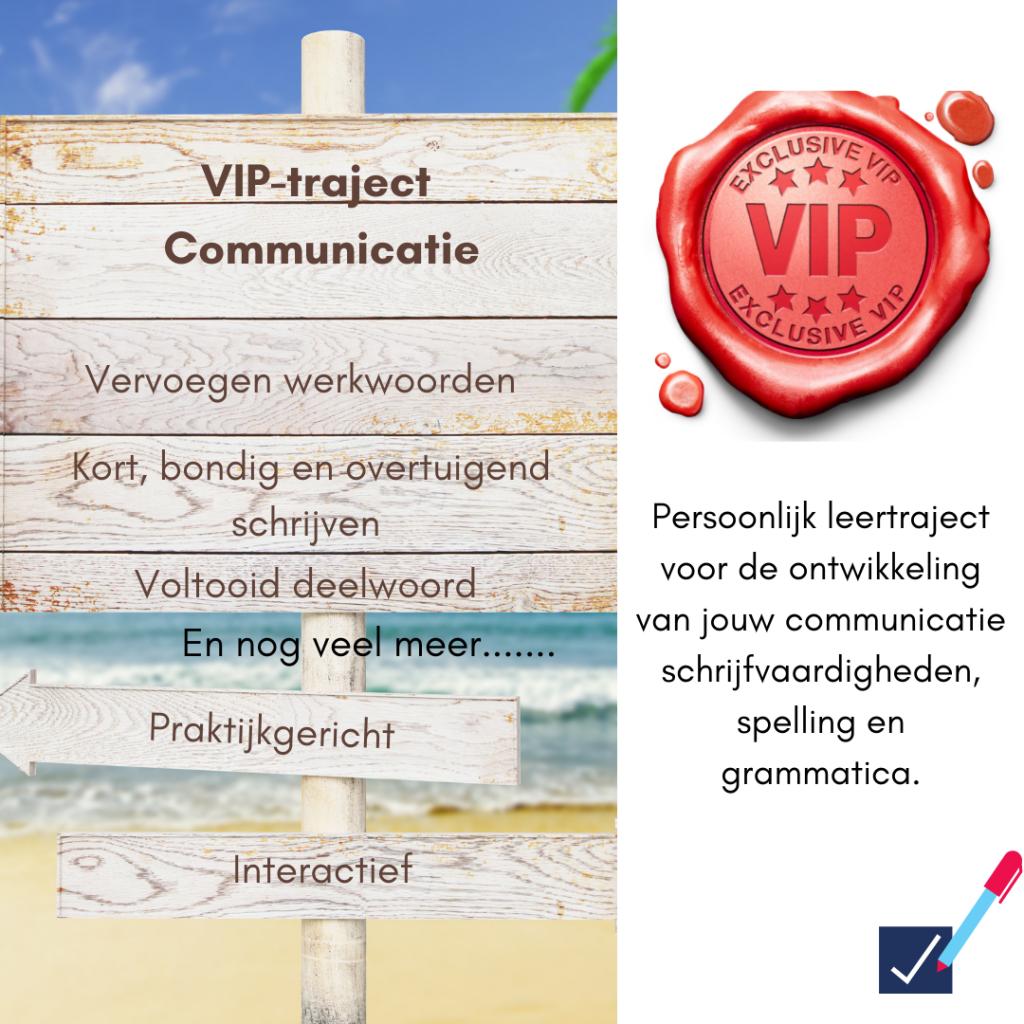 VIP-Traject Communicatie